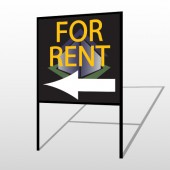 For Rent Corner 702 H-Frame Sign