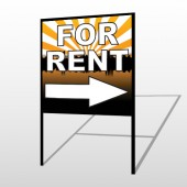 For Rent 721 H-Frame Sign