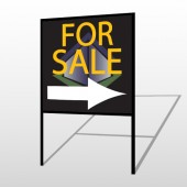 For Sale Corner 705 H-Frame Sign