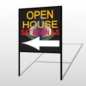 Open Corner 648 H-Frame Sign