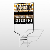 Auction Parktown 647 Round Rod Sign