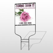 Pinkrose Hidden Ring 399 Round Rod Sign