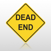 Dead End  10092 Road Sign