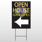 Open Corner 648 Wire Frame Sign
