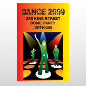 Dance Disco 518 Custom Decal