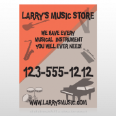 Larry Music Store 372 Custom Decal