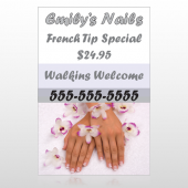Nails 295 Custom Decal