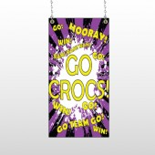 Crocs 42 Window Sign