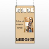 Handyman 240 Window Sign