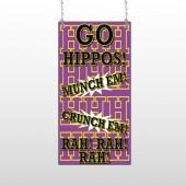 Hippos 45 Window Sign