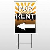 For Rent 720 Wire Frame Sign