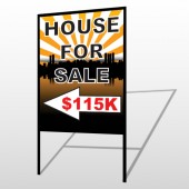 House Sale 718 H-Frame Sign