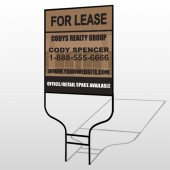 Brown Building Space 862 Round Rod Sign