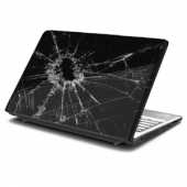 Busted Glass Laptop Skin