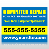 Computer Repair Sign Panel