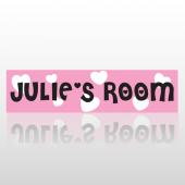 Girls Room Street Sign