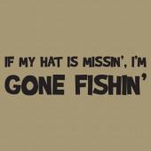 Gone Fishin 256 Wall Lettering