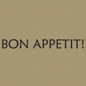 Bon Appetit 248 Wall Lettering