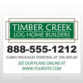 Log Builder 40 Custom Decal