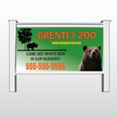 "Bear Zoo 302 48""H x 96""W Site Sign"