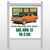 "Muscle Car 124 48""H x 48""W Site Sign"