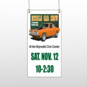 Muscle Car 124 Window Sign