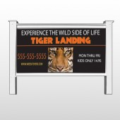 "Tiger Landing 303 48""H x 96""W Site Sign"