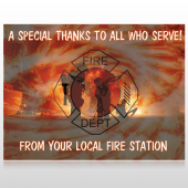 Fire 432 Site Sign