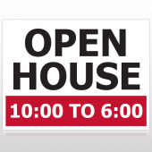 Open House 21 Custom Sign