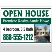 Open House 32 Custom Sign