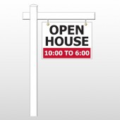 Open House 21 18&quot;H x 24&quot;W Swing Arm Sign
