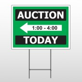 Auction 60 Wire Frame Sign
