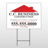 Construction 72 Wire Frame Sign