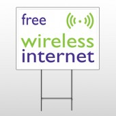 Free Wireless 80 Wire Frame Sign
