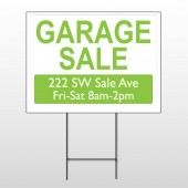 Garage Sale 92 Wire Frame Sign
