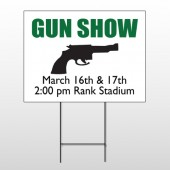 Gunshow 74 Wire Frame Sign