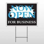 Now Open 90 Wire Frame Sign