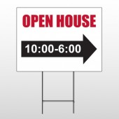 Open House 17 Wire Frame Sign