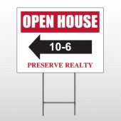 Open House 18 Wire Frame Sign