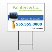 Painter 71 Wire Frame Sign
