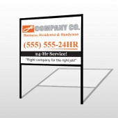 Handyman 168 H-Frame Sign