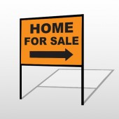 Home For Sale 34 H-Frame Sign