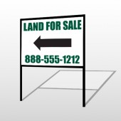 Land 23 H-Frame Sign
