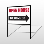Open House 17 H-Frame Sign