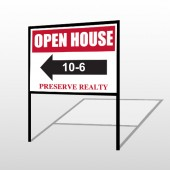 Open House 18 H-Frame Sign