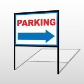 Parking 78 H-Frame Sign