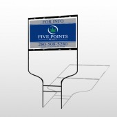 Five Points 15 Round Rod Sign