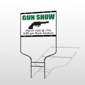 Gunshow 74 Round Rod Sign