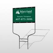 Maryland 6 Round Rod Sign