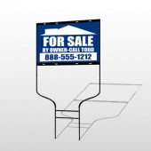 Sale By Owner 28 Round Rod Sign